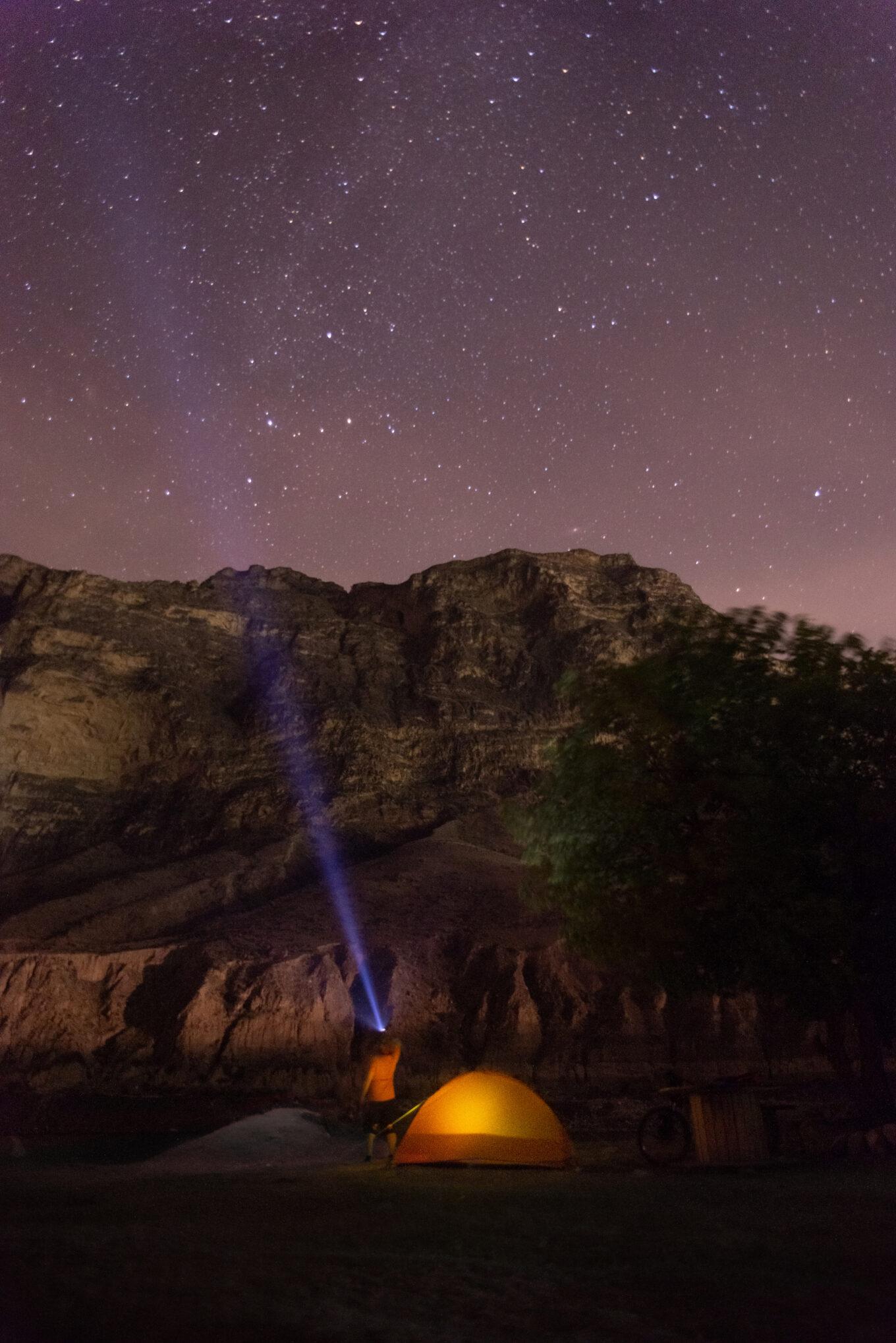 Ночное небо Дагестана